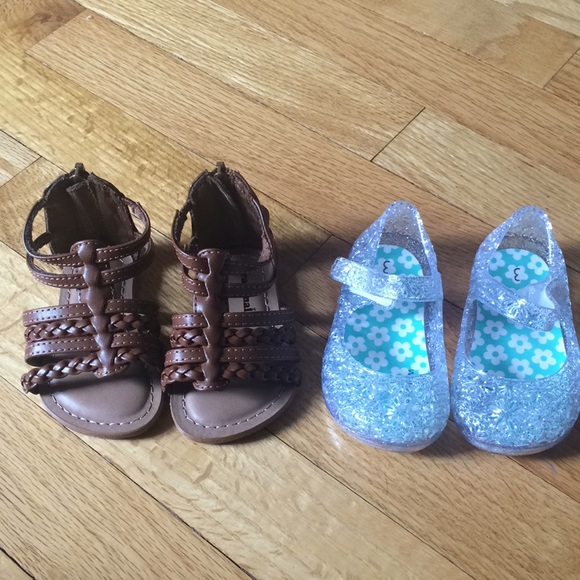 7fe1000ad Garanimals Shoes | Bundle Of Two Baby Sandals Size 3 | Poshmark